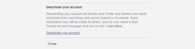 Best 2 Methods To Delete Or Deactivate Facebook Account.