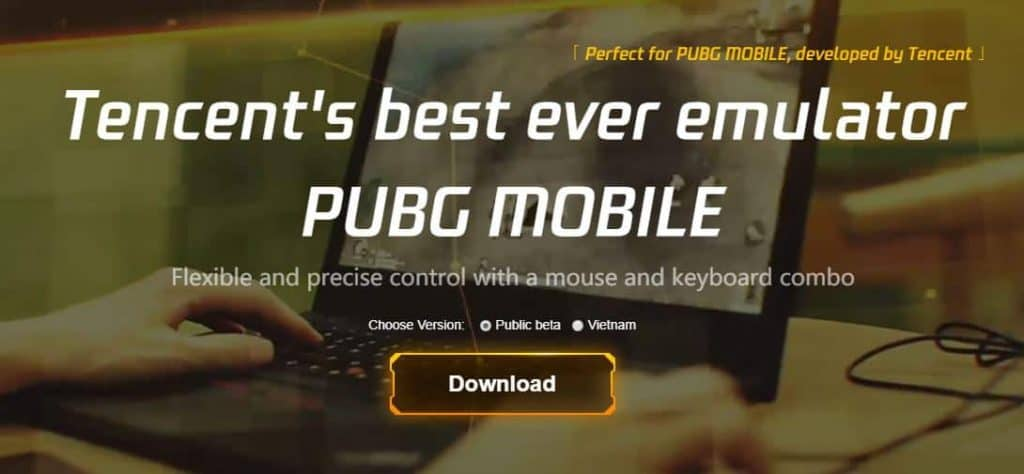 Play Call of Duty mobile on PC with Tencent Gaming Buddy