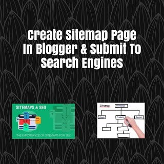 Create Sitemap Page In Blogger