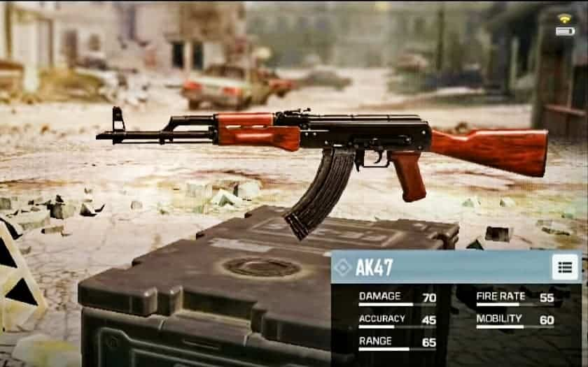 AK-47 Assault Rifle in CoD mobile