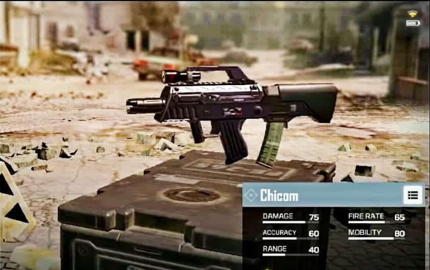 Chicom Submachine Gun in CoD Mobile