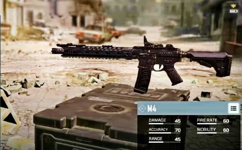 M4 Assault Rifle in CoD mobile