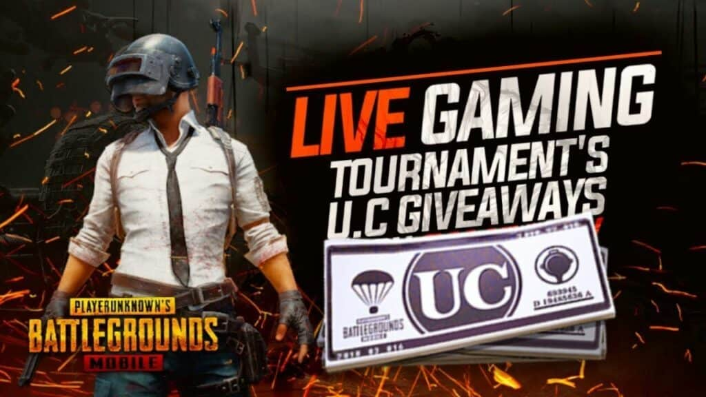 Get UC for Free in Online PUBG Mobile Tournaments
