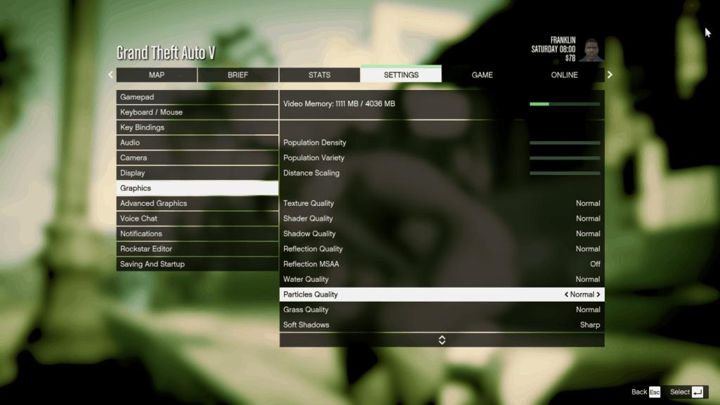 Additional Optimal Graphics Settings for GTA 5