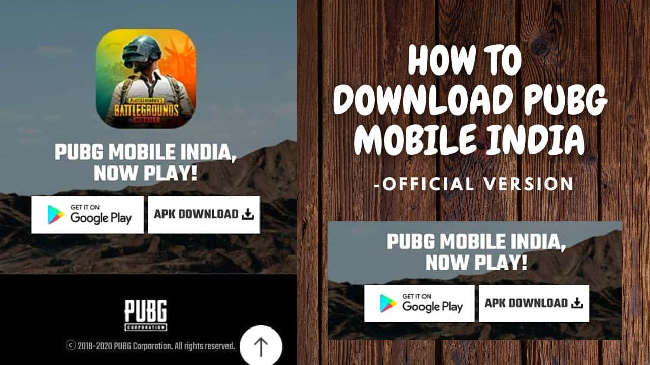 How to Download PUBG Mobile India Apk - Official Version