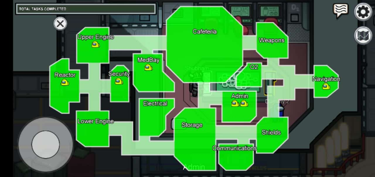Use Admin Map to See Players Location